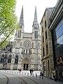 Bordeaux (33) Cathédrale Saint-André Transept nord Façade 02.jpg