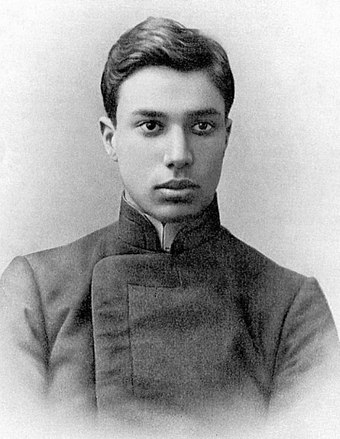 Pasternak c. 1908 Boris Pasternak in youth.jpg