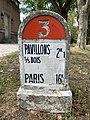 Borne Kilométrique 16 Route N3 Parc Lefèvre - Livry Gargan - 2020-08-22 - 2.jpg