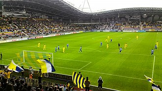 Borisov Arena - Image: Borosiv Arena 15 05 2014 BATE Dinamo