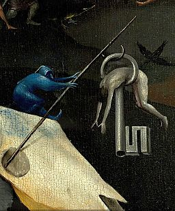 Bosch, Hieronymus - The Garden of Earthly Delights, right panel - Detail Key