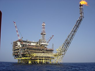 Eni - Eni Oil Bouri DP4 in Bouri Field is the biggest platform in the Mediterranean Sea