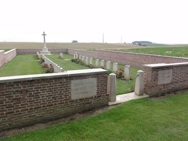 Brancourt-le-Grand Military Cemetery (Aisne)