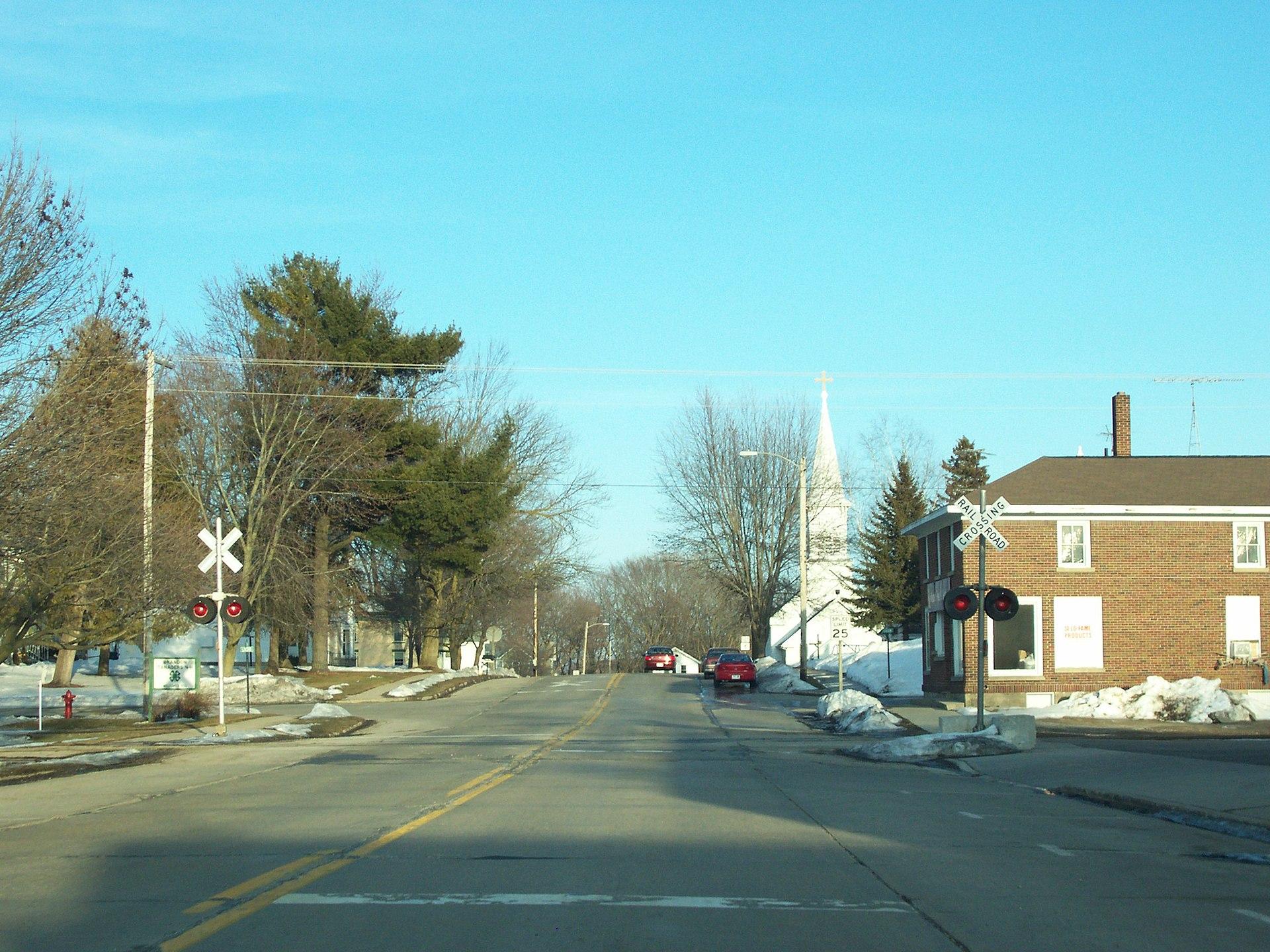 Fond Du Lac Wi >> Brandon (Wisconsin) - Wikipedia, la enciclopedia libre