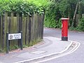 Branksome, postbox No. BH12 241, Nelson Road - geograph.org.uk - 1375770.jpg