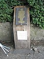 Brass rubbing post within Leeds Castle grounds (2) - geograph.org.uk - 1556873.jpg