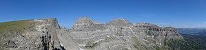 Breccia Peak (Wyoming) - Image: Breccia Peak WY05