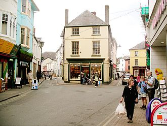 Brecon - The High Street, Brecon