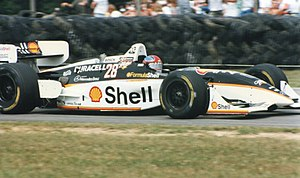 Bryan Herta - Brian Herta driving for Team Rahal at Mid-Ohio Sports Car Course in 1996