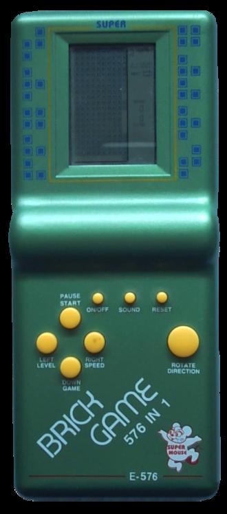 Handheld electronic game - Brick Game