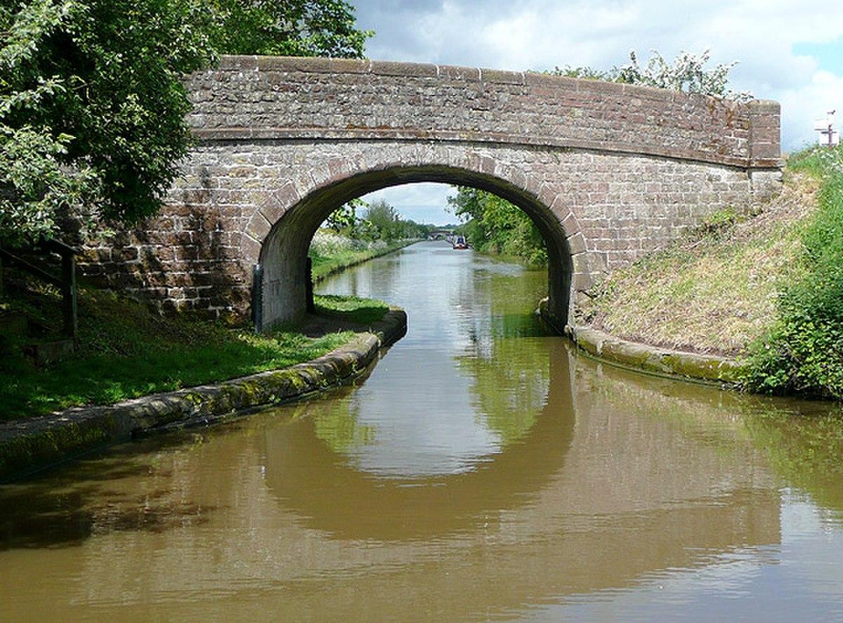 Bridge No 51, Shropshire Union Canal at near Soudley, Shropshire - geograph.org.uk - 1461666.jpg