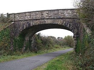 The bridge in Sourton