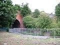 Bridge foundations by River Lark, Bury St. Edmunds - geograph.org.uk - 1992697.jpg