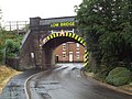 Bridge over Scotland Road, Market Harborough (geograph 5862280).jpg