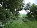Bridleway and Bridge SW of Alconbury Weston - geograph.org.uk - 445766.jpg