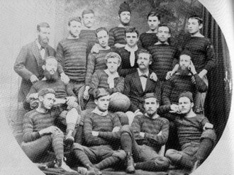History of soccer in Brisbane, Queensland - Brisbane Football Club ca 1879 (playing Melbourne rules and rugby rules)