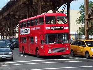 Bristol VR - Former Eastern National Bristol VR in New York City in June 2007