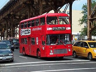 Bristol VR - Former Eastern National Bristol VR in New York City in June 2007
