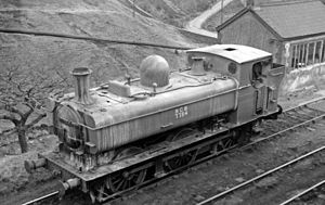 GWR 5700 Class - No. 7754 working for the NCB in 1965