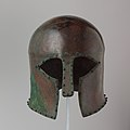 Bronze helmet of Corinthian type MET DP105637.jpg
