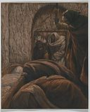 Brooklyn Museum - Jesus in the Sepulchre (Jésus dans le sépulcre) - James Tissot.jpg