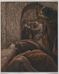 Jesus in the Sepulchre