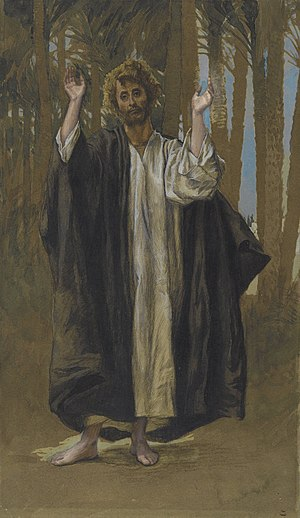 Simon the Zealot - James Tissot – Saint Simon – Brooklyn Museum