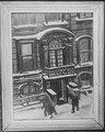 Brownstones in Winter - NARA - 559149.tif