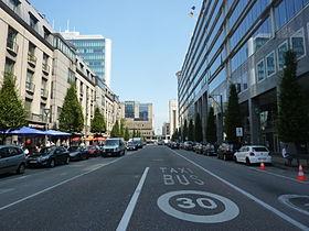 rue du progrès bruxelles wikipédia
