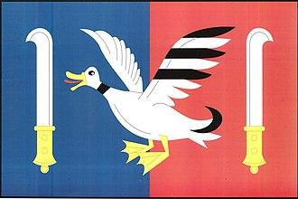 Brzkov - Image: Brzkov flag