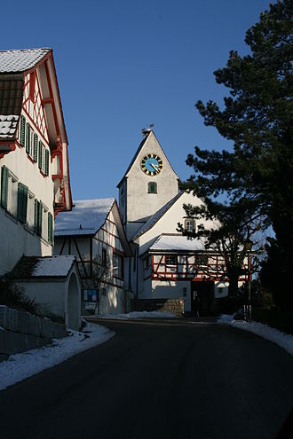 Buchs, Zürich - Swiss Reformed church