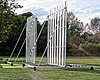 Buckhurst Hill cricket ground sight screen, Essex, England 2.jpg