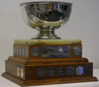 Southern Ontario Junior A Hockey League - Frank L. Buckland Trophy - OHA Championship, competed for by SOJHL champion from 1971 until 1977. Won in 1971, 1972, 1973, 1975, and 1976.