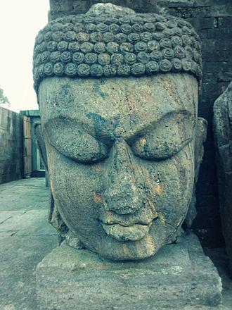 Ratnagiri, Odisha - Image: Buddha's head