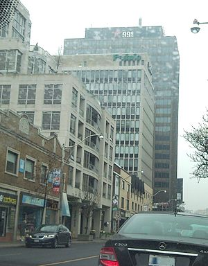 CFRB - The station's former downtown Toronto studios, shared with CHBM-FM (now owned by Newcap) and CKFM-FM.