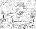 Bull and Mouth Inn, Ordnance Survey map 1875.jpg