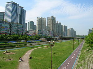 Bundang district of Seongnam