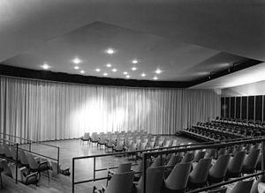 Fresco (Stockhausen) - Studio auditorium of the Beethovenhalle