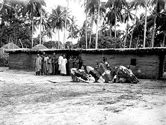 Hehe people - Hehe warriors from Iringa (1906)