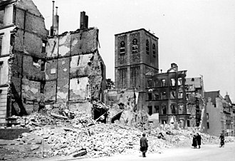 Defence of the Reich - Destruction of Cologne after the 9 June 1942 attack