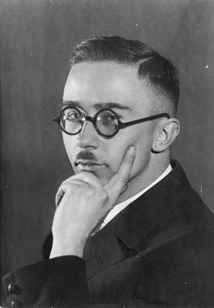 Heinrich Himmler - Himmler in 1929. Photograph by Heinrich Hoffmann.