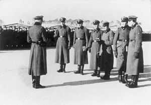 SS-Totenkopfverbände -  SS-TV officers at Sachsenhausen concentration camp, 1936