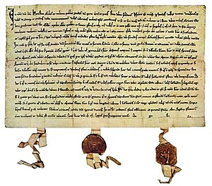 Growth of the Old Swiss Confederacy - The Federal Charter of 1291