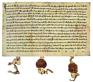 Old Swiss Confederacy - Federal Charter of 1291