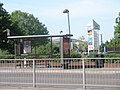 Bus stop by the Solent Retail Park - geograph.org.uk - 797482.jpg