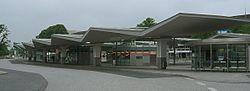 Bus station Wandsbek market place