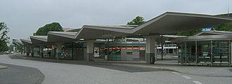 Wandsbek (quarter) - Bus station Wandsbek market place