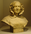 Bust of a woman in bonnet, by Paul-AugusteSylvaire Bonnifay.png