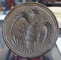 Butter mold, American, 18th century, wood - Bennington Museum - Bennington, VT - DSC08655.JPG