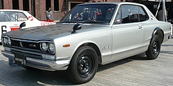 1972 Nissan Skyline GT-R coupe